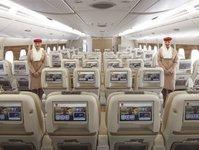 linie lotnicze, przewoźnik lotniczy, emirates, klasa ekonomiczna premium