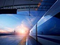 dworzec, kolej, przyszłość, pasażer, hub, galeria