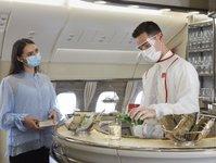 linie lotnicze, serwis pokładowy, emirates,