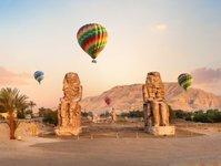 egipt, luksor, loty widokowe, turystyka