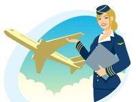 Virgin Atlantic, Stewardesa, samolot, linie lotnicze, uniform