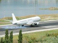 lotnisko, port lotniczy, grecja, pasażerowie, turyści, samolot, ruch lotniczy