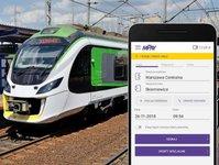 koleje mazowieckie, przewoźnik kolejowy, płatności mobilne, pociąg, smartfon, aplikacja