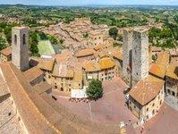Włochy, atrakcja turystyczna, san gimignano, toskania, zabytek, unesco