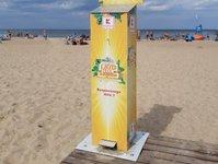 dezynfekcja, mrągowo, kołobrzeg, gdańsk, plaża, kaufland