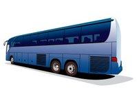 autokar, rejestracja, autobus turystyczny, Polski Związek Przemysłu Motoryzacyjnego, centralna ewidencja pojazdów, Mercedes, Setra