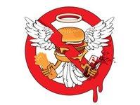 Kuma s Croner, hamburger, hostia, katolicy, świętokradztwo, USA, heavy metal,  Ghost, kanapka, protest, nowość