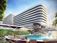 radisson blu, zdrojowa invest, hotel, apartamenty, erbud, ekonova, certyfikat ekologiczny, infinity edge