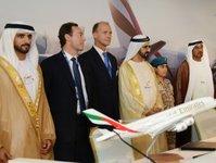 Emirates, linie lotnicze, Airbus, Boeing,  Ahmed Bin Saeed Al-Maktoum, Jim McNerney, Fabrice Brégier,