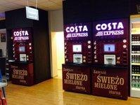 Costa Coffee, Coffeeheaven, rebranding, maszyny, eksperes, kawa, szybko