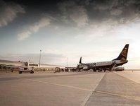 lotnisko modlin, liczba obsłużonych pasażerów, wyniki, statystyki,