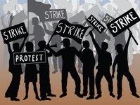 strajk, linie lotnicze, przewoźnik lotniczy, alitalia, la reppublica, akcja protestacyjna, zwolnienia grupowe