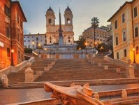 schody hiszpańskie, plac hiszpański, trinita dei monti, Virginia Raggi, Francesco de Sanctis, remont,