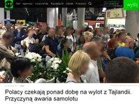 Itaka, Tajlandia, turyści utknęli, awaria samolotu, Travel Service