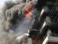 pożar, hotel, ofiary, ranni, zabici, pakistan, karaczi, regent plaza,
