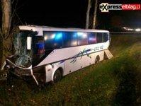 autobus, wypadek, DK 7, king-mar