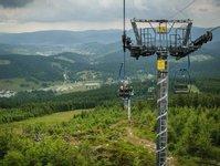 czarna góra, resort, dolnoślaskie, rozwój infrastruktury, park linowy, kolejka, gastronomia, narciarstwo, hotele, pensjonaty