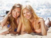 sopot, kampania edukacyjna, plaża, bikini, deptak, lokale gastronomiczne, plakaty,