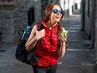 zielona góra, aplikacja mobilna, footsteps, zwiedzanie, smartfon, telefon komórkowy