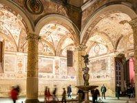 włochy, florencja, otwarcie, przejście, palazzo vecchio