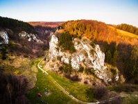 dolina kobylańska, krakowski park krajobrazowy,asfalt,zabierzów
