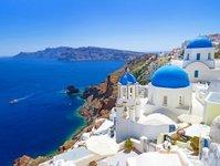 grecja, wzrost, przyjazdy, podróżny, droga wodna, porty lotnicze,