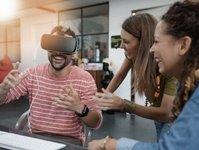 wirtualna rzeczywistość, air france, linie lotnicze, rozrywka podkładowa, kino 3D,