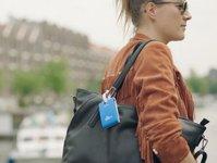 KLM, linie lotnicze, prezent, amsterdam, wywieszka, bagaż, gadżet