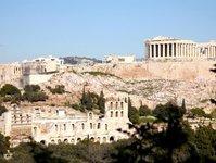 strajk, grecja, muzeum, stanowisko archeologiczne,