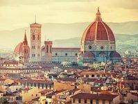 florencja, śmierć, turysta, bazylika, santa croce