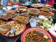 tajlandia, bangkok, street food, zakaz, rząd, żywność, handel, chodniki