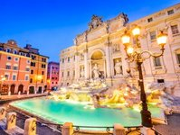 rzym, fontanna di trevi, włochy, Corriere della Sera, turyści, zwiedzanie