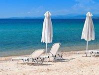zakaz kąpieli, Attyka, Grecja, wyciek, ropa