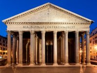 atrakcja, rzym, panteon, bilet, płatność, turyści