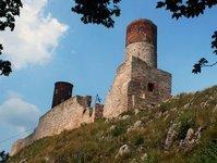 Zamek Królewski w Chęcinach, nieczynny, Chęciny, zamknięty, remont, Robert Jaworski, ruiny zamku, wykonawca, inwestycja, modernizacja, Agat, Kompens, konsorcjum