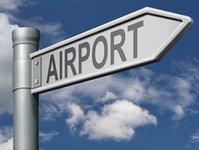 Modlin, lotnisko, samolot, prot lotniczy, tablice informacyjne, podwarszawska trasa, znak, dojazd na lotnisko