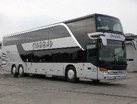 Sindbad, biuro przewozowe, autobus, autokar, autokar piętrowy, Setra, Neu-Ulm, Centrum Klienta, międzynarodowe linie autokarowe, przewoźnik, Opole, biuro podróży