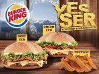 Burger Kinf, Yes Ser, promocja, marka, Facebook, Warszawa, Wrocław, Kraków, Gdańsk, fast food, gastronomia, lokal, obiekt, Facebook, oferta, restauracja, bar szybkiej obsługi, burger, ser
