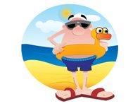 plażowicze, wypoczynek, Flip Flop 2013, rekin, badanie, Francuzi, Hiszpanie, Australijczycy