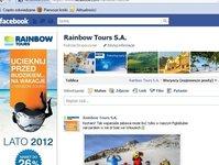Rainbow Tours, touroperator, biuro podróży, turystyka, marketing internetowy, social media, sprzedaż internetowa, podsumowanie, analiza, Michał Jaworski, reklama internetowa, reklamy graficzne. grafika, serwis internetowy, promocja, optymalizacja treści reklam, Facebook, profil na Facebooku, marketing, marketing na Facebooku, fani, strona, konkurs, podróże, wycieczki