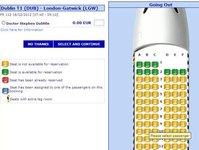 Ryanair, irlandzki przewoźnik, rezerwacja miejsc,  miejsca w samolocie, bilety z rezerwacja miejsc, pierwszeństwo wejścia na pokład, Stephen McNamara, pasażerowie, osoby podróżujące, trasy, nowa usługa, oferta, seat map