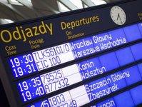 dworzec kolejowy, lotnisko, węzeł przesiadkowy, komunikacja, ruch pasażerski, przesiadki