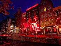 Amsterdam, Holandia, Dzielnica Czerwonych Latarni, turystyka, De Wallen