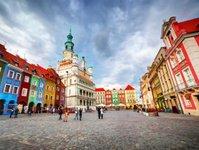 Poznań, karta turystyczna, turyści, zwiedzanie, atrakcje turystyczne,