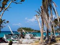 tajfun, filipiny, turyści, boracay, Phanfone