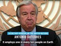 organizacja narodów zjednoczonych, światowa organizacja turystyki, antonio guterres
