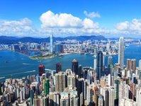 turystyka, protest, strajk, Hongkong, Chiny