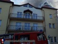 pożar, hotel, Kudowa Zdrój, Adam & Spa