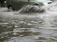 sardynia, cagliari most, powódź, deszcz, autostrada