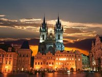 Czechy, Praga, turystyka, turyści, Polska